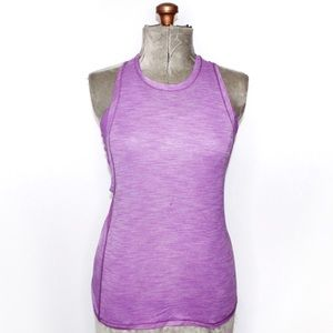 Lululemon Purple Heathered Halter Tank Top Size 6
